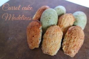 carrot cake madelines