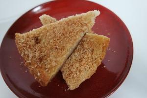 coconut mochi rice cake bars