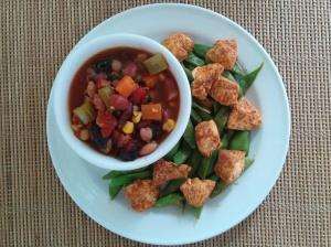 chunky vegan chili