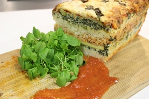 Veggie Lasagna Loaf (photo credits to Minute Rice®)